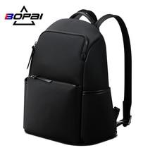 Женский рюкзак BOPAI, черный водонепроницаемый деловой рюкзак с отделением для ноутбука 14 дюймов, 2020