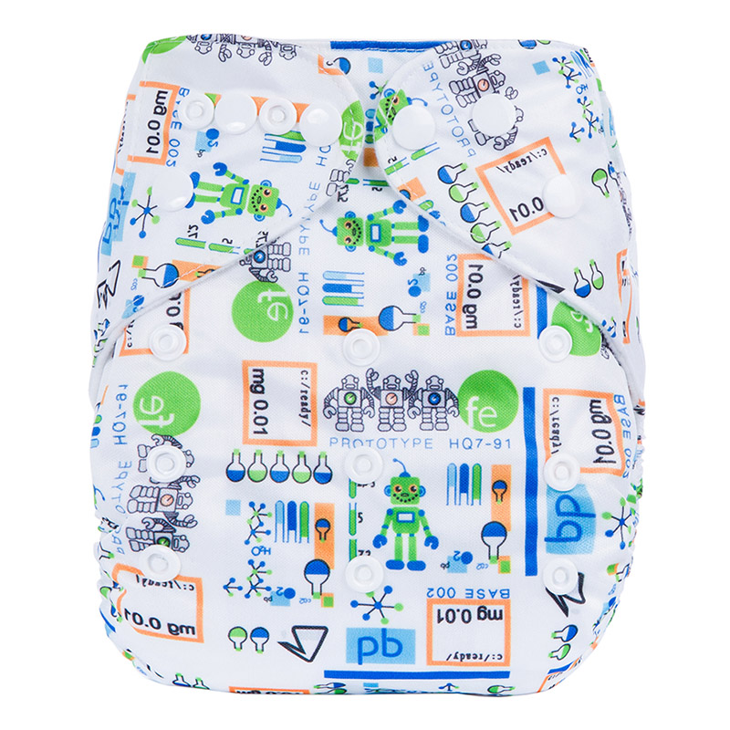 Eco Friendly Natural Diapers Cotton Washable Baby Dream Diapers Baby Diapers Nappies N11