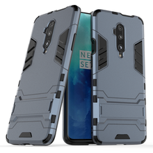 Shockproof Armor Cover For Oneplus 7 7T Pro Hard PC + Soft Silicone 2 in 1 Holder Phone Case For Oneplus 3 3T 5 5T 6 6T Cover(China)