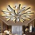 Акриловые толстые современные светодиодные потолочные светильники для гостиной  спальни  столовой  комнатная потолочная лампа освещение  ...