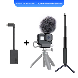 Image 5 - GoPro Pro 3.5 millimetri Mic Adapter per HERO 9 HERO 8 EROE 7 HERO5 Nero/HERO5 Sessione/HERO6 NERO AAMIC 001