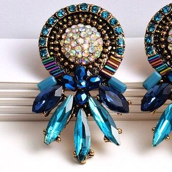 Colorful Crystal Earrings 5