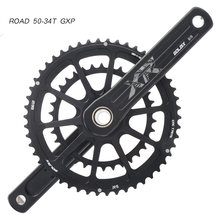 10 11 Speed Road Folding Bike Crankset 165/170/172.5/175mm GXP Crank 50/34T 52/36T 52/42T 53/39T Chainring FOR SHIMANO SRAM GXP