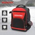 WORKPRO новый рюкзак для инструментов  сумка-Органайзер  водонепроницаемая сумка для инструментов  многофункциональный ранец 17 дюймов  сумка