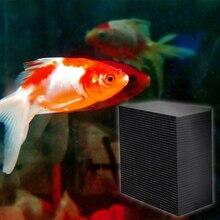 2 размера эко-аквариумный очиститель воды кубики аквариум активированный уголь фильтр для очистки воды аквариумный аквариум фильтр
