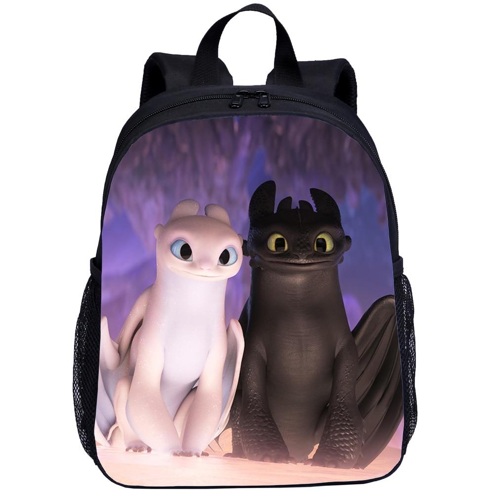 Casual Train Your Dragon Children School Bags Girl Boy Small Schoolbag Kids Travel Bag Infant School Backpacks Mochila Infantil