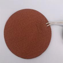 Grzałka silikonowa 400w 60C termostat 120V riscaldatore łóżko diametro 240mm nagrzewnica przemysłowa grzałka silikonowa pad grzałka oleju tanie tanio TherMoElec Włókniny tkaniny 101 W Up 15 Godzin i Up