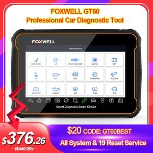 Image 1 - Foxwell GT60 OBD2 Профессиональный автомобильный диагностический инструмент полная система на ABS SRS DPF EPB 19 сброс сервиса ODB2 OBD2 автомобильный сканер