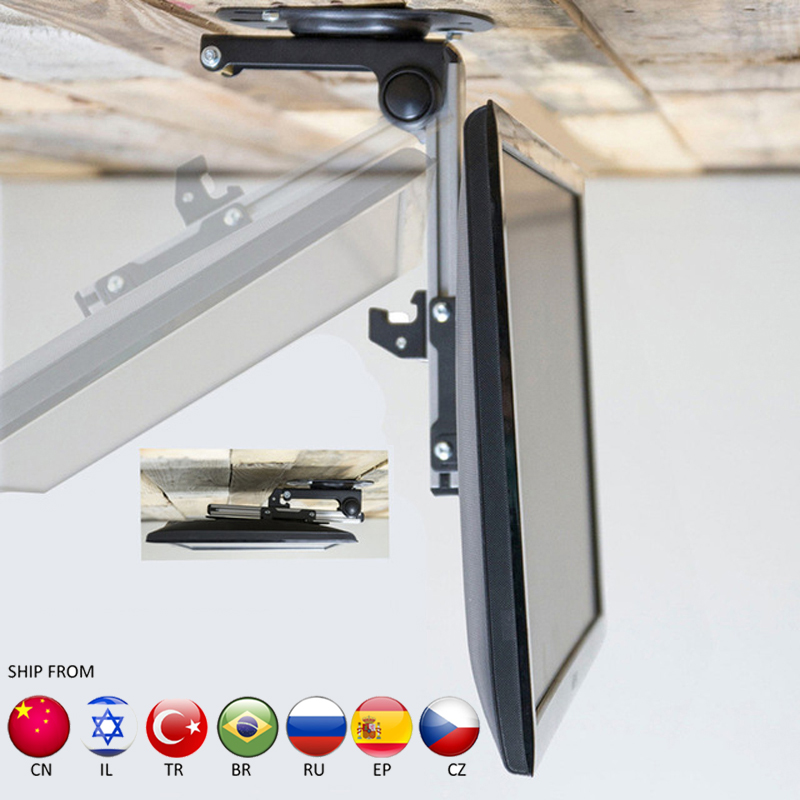 D-MOUNT Rack Monitor Screen Ceiling-Holder Foldable LED CB-1 TV LCD 17-37- title=