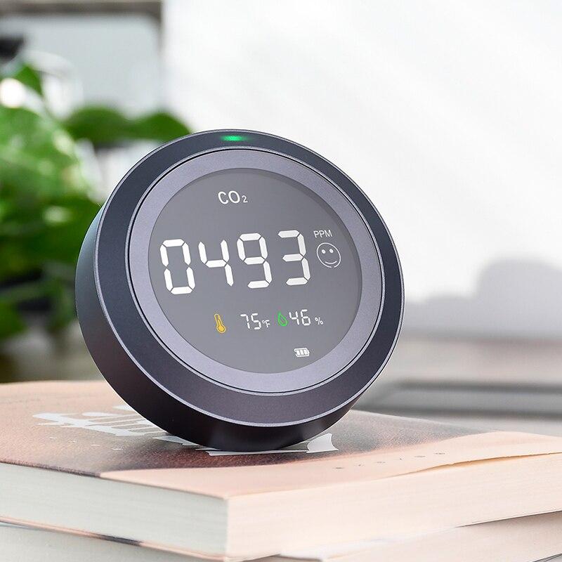 Popular Brand Habotest Pth-5 Air Analyzer Carbon Dioxide Detector Gas Detector Alarm Sensore Di Qualita Aria Air Quality Monitoring Healthy
