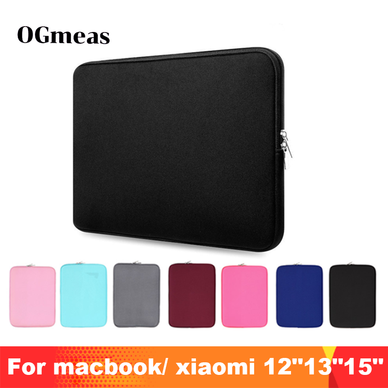 "Laptop Sleeve Cover Tas 11 ""12"" 13 ""15"" 15.6 ""voor Macbook Pro Air Retina 14 inch voor Xiaomi Huawei HP Dell Notebook Case Tablet"