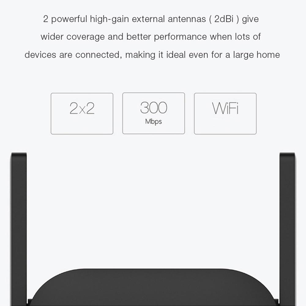 cheapest Xiaomi Mi Wi-Fi Range Extender Pro Global Version Mi Wireless Router Xiaomi Wifi Pro Amplifier Router 300M 2 4G Repeater Network
