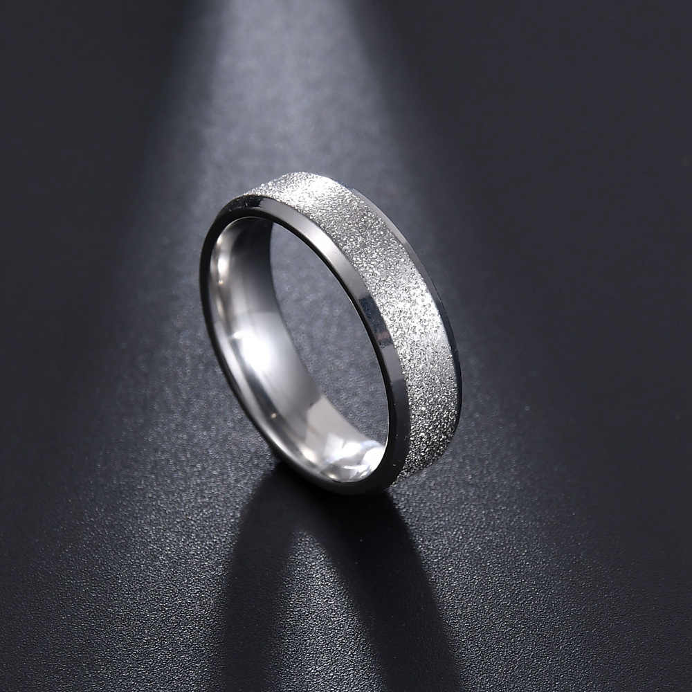 Kwaliteit Goldcolor Wedding Bands Ring Voor Vrouwen Mannen Sieraden Rvs Engagement Ring Paar Anniversary Gift Verbazingwekkende Prijs