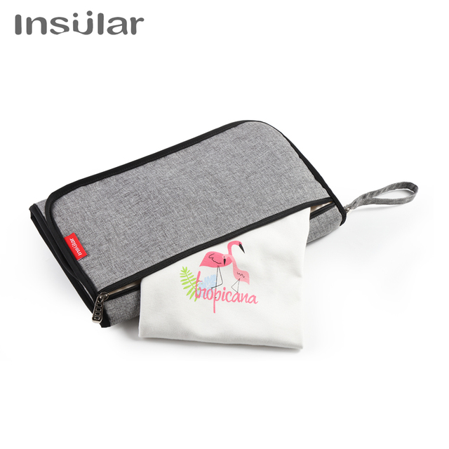 Insular 3 in 1 Waterproof Changing Pad Diaper Travel Multifunction Portable Baby Diaper Cover Mat Clean Hand Folding Diaper Bags | Happy Baby Mama