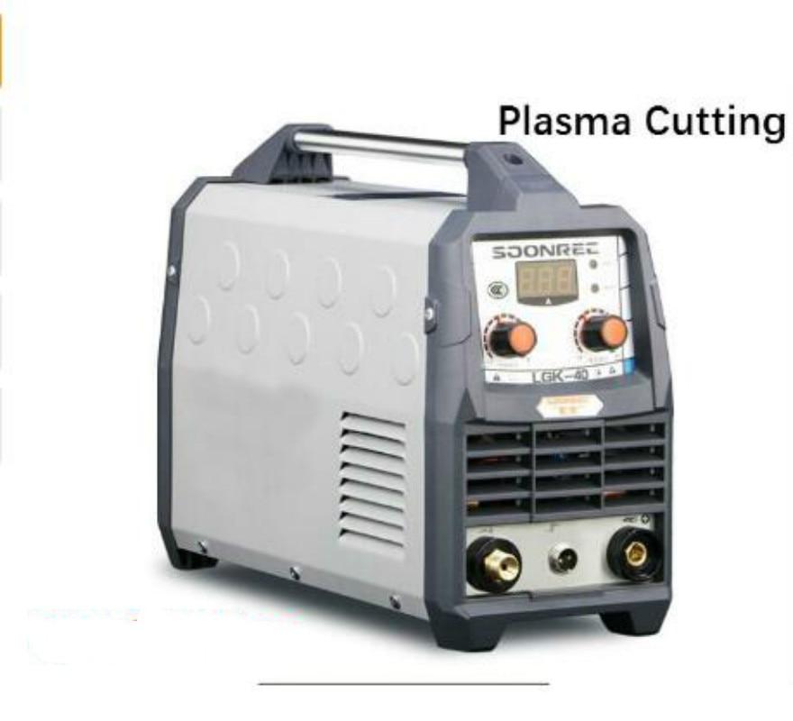 LGK40 Neue Plasma Schneiden Maschine LGK40 CUT50 220V Plasma Cutter mit PT31 Freies Schweißen Zubehör Freies Verschiffen
