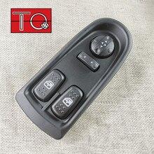 Interrupteur de commande principal de fenêtre électrique, bouton de levage avant gauche 5801304491 5802063091 pour Iveco