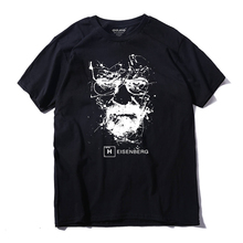 High Quality Cotton T-shirt Men Funny Cool Casual Short Sleeve Tops Male Breaking Bad Print Breathable Tshirts Drop Shipping