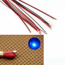 T0402 t0603wm 1206 pré-soldadas micro litz wired leads smd led mutil-color