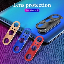 Redmi Note 7 K20 pro Metal Rear Lens Protective Ring Camera Screen Protector For Xiaomi mi 9 8 mi8 se Mix3 Film