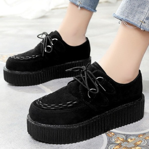 2020 Women Flats Platform Shoe