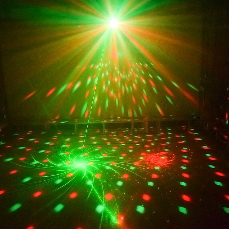 La boule de LED disco de WUZSTAR DJ allume l'effet d'éclairage de décoration d'étape lumière Laser de partie de rvb DMX pour la barre de Club de Festival de mariage - 5