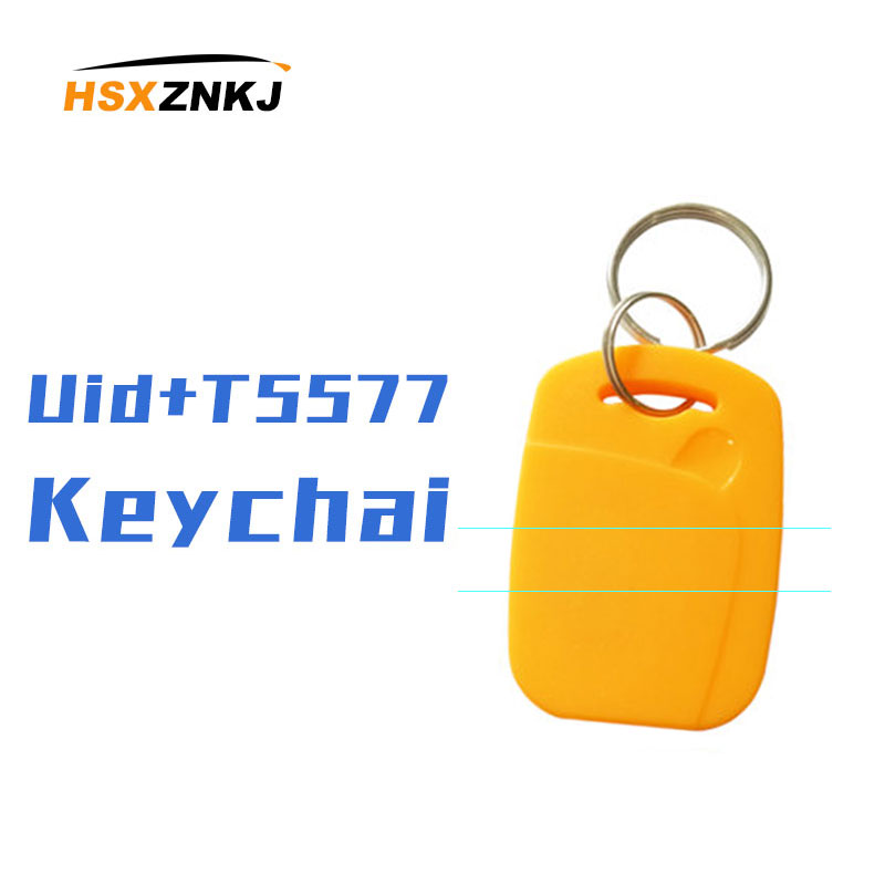 5 / 10pcs IC + ID Writable Variable UID Rewriteable 13.56MHZ Composite Key Tag RFID Dual Frequency Dual Chip + 125KHZ T5577 EM43
