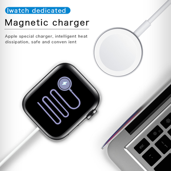 Magnetic USB Apple Watch Charger Compatible for Apple Watch Series 6 5 4 3 2 1 Wireless Fast Charge Adapter wireless charger for apple watch 4 3 2 1 i watch charging portable adapter for apple watch 4 3 usb charger base mini 2mm cable