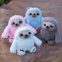 25cm Cute Simulation Sloth Doll Small Plush Toy Soft Stuffed Animal Toys Children Kids Gift