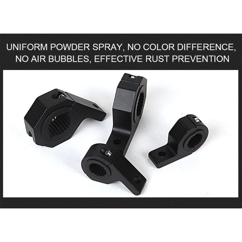 Motorbike Fixing Mount Bracket Tube Clamps For LED Work Light Car And Motorcycle Spotlight Bracket Motor Accessories