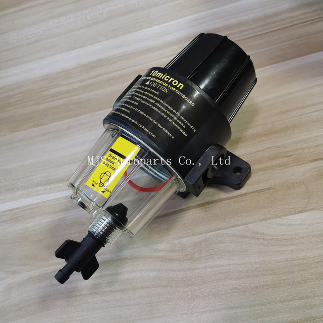 UF 10K Fuel Filter Water Separator Assembly Clear Bowl All Outboard Motors Fuel Tank Yacht Boat Diesel Gasoline Engine Assembly
