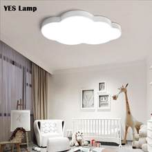 Lâmpada de teto moderna regulável, led, berçário, quarto, desenho animado, superfície, iluminação montada, controle remoto, ac110v 220v