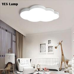 Dimmable Modern LED Ceiling Light Lamp  Nursery Kid Bedroom Cartoon Surface Mounted Lighting Remote Control AC110V 220V