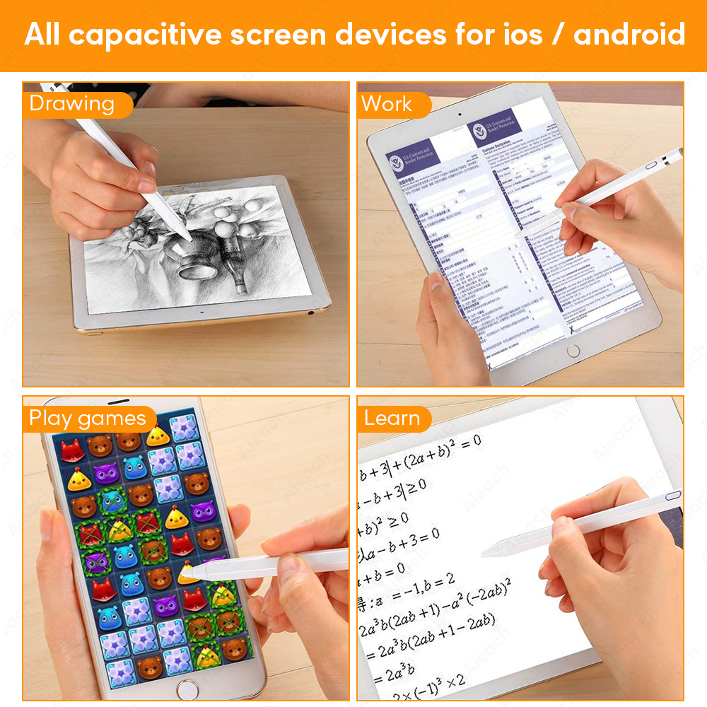 Image 5 - Attivo Penna di Tocco Dello Stilo Per Apple iPad Pro 11 12.9 10.5 9.7 miini 5 Air Smart Capacità di Matita Per il iphone huawei Xiaomi TabletPennini per tablet   -