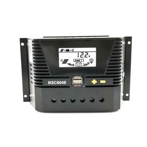 Image 1 - 80A/60A/50A/40A/30A/20A/10A 12/24/36/48 فولت الشمسية جهاز التحكم في الشحن 12 فولت 24 فولت 36 فولت 48 فولت السيارات الخلفية LiFePO4 بطارية ليثيوم 3.2 فولت 3.7
