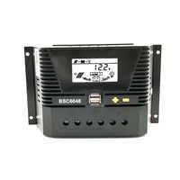 80A/60A/50A/40A/30A/20A/10A 12/24/36/48V Solar Charge controller 12V 24V 36V 48V Auto Backlight LiFePO4 lithium Battery 3.2V 3.7
