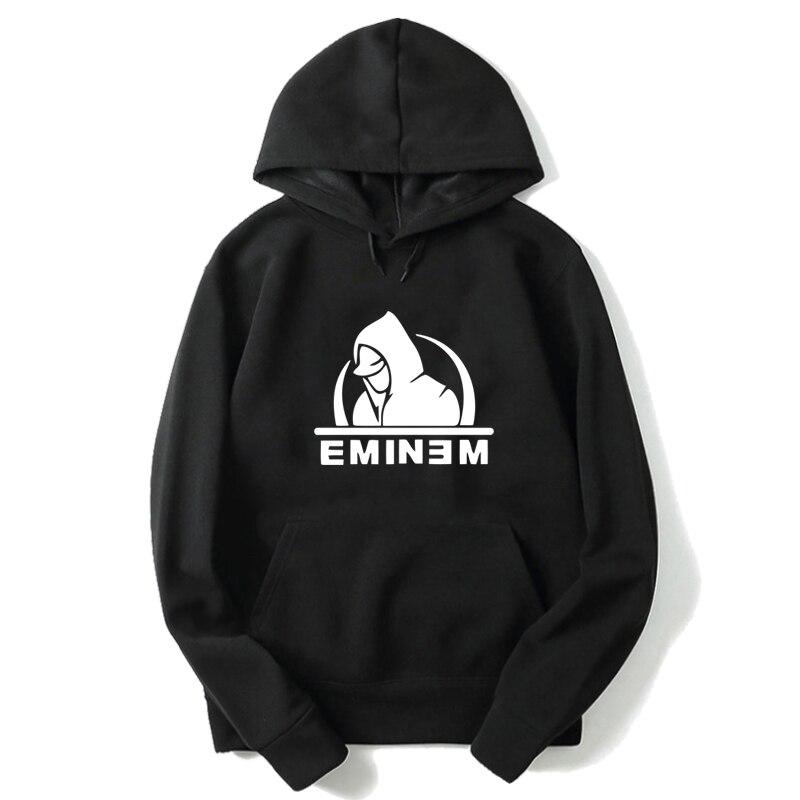 Eminem Printed Sportswear Teenager Boys Casual Hoodies Men's Cotton Hoody Autumn Lovely Hooded Pullovers Unisex Harajuku Tops