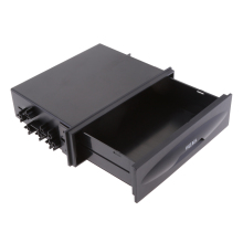 Одиночная Din приборная панель крепление автомобиля ремонт аудио Кассетная коробка ящик