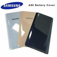 Samsung Galaxy A80 Un 80 Porta di Vetro Posteriore Della Copertura Dellalloggiamento Della Copertura Posteriore Della Batteria Custodia di Ricambio per Samsung Galaxy A80 A805 SM A8050