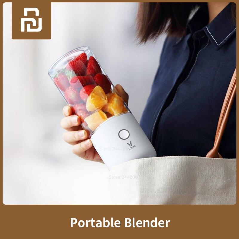 XIAOMI MIJIA VIOMI Blender Electric Kitchen Mixer Juicer Fruit Cup Small Portable Mini Food Processor 45 Seconds Quick Juicing