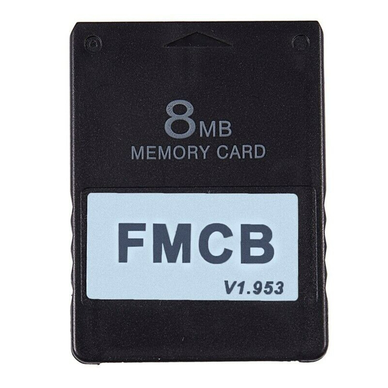 FMCB v1.953 Card Memory Card for PS2 2 Free McBoot Card 8 16 32 64MB