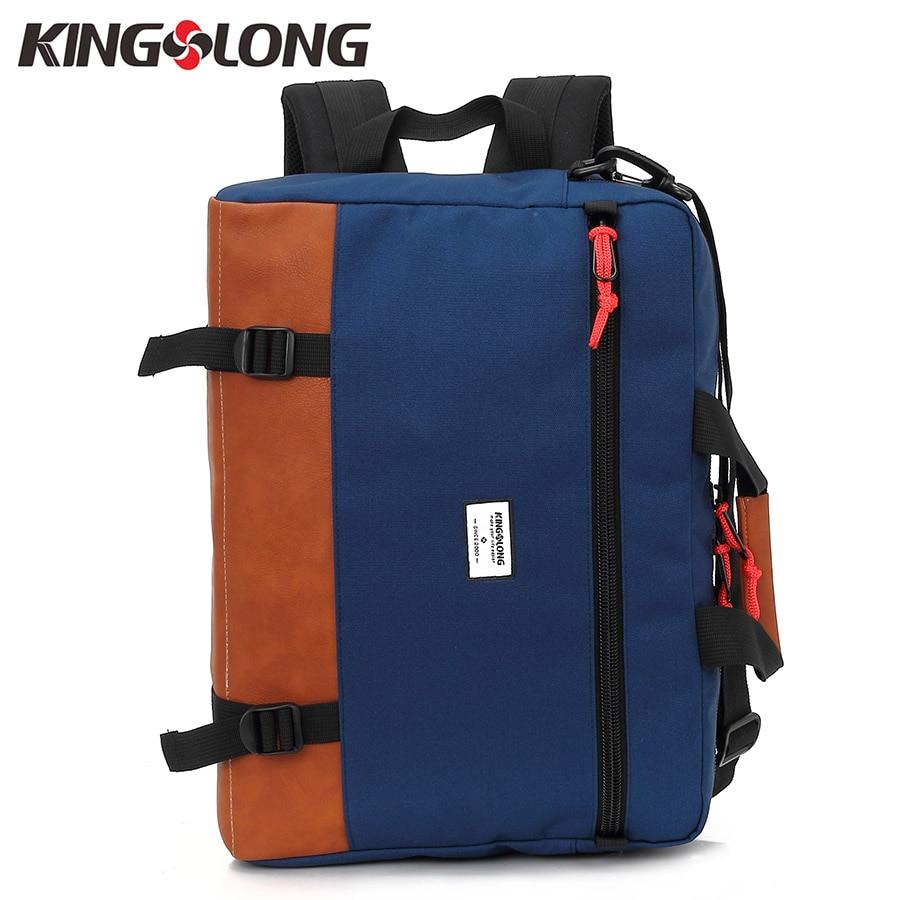 Kingslong Multi-function Men Briefcases 15.6 Inch Laptop Handbag Men's Business Crossbody Bag Messenger Shoulder Bags KLM1340R-6