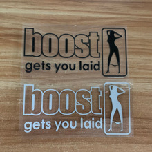 Car stickers boost gets you laid JDM style PVC sticker hellaflush Auto motorcycles accessories