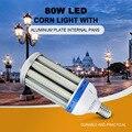 E39 80 واط LED ضوء الذرة مع لوحة الألومنيوم المقالي الداخلية 2835 الأبيض 6500K LED ضوء الذرة الأسهم في الولايات المتحدة الأمريكية سريع شحن مجاني