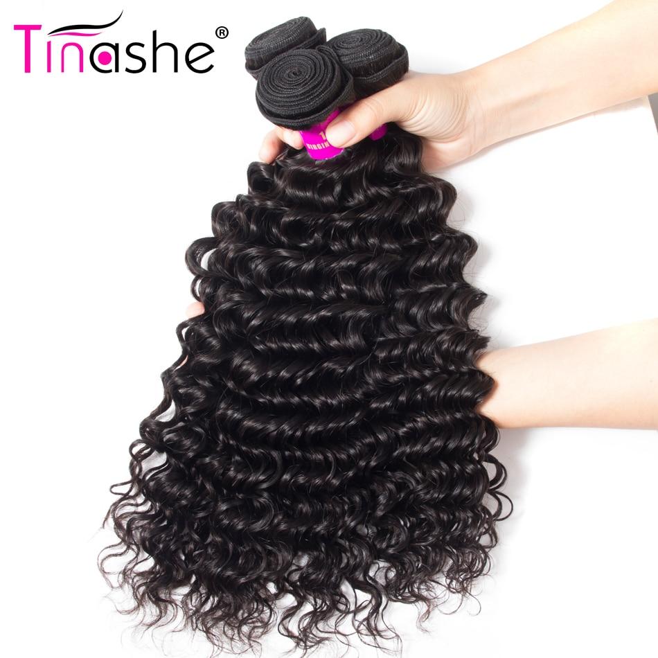 H375807174e85412b8fcd2e2aedfd322dh Tinashe Deep Wave Bundles With Closure 5x5 6x6 Lace Closure And Bundles Remy Brazilian Human Hair Weave 3 Bundles With Closure