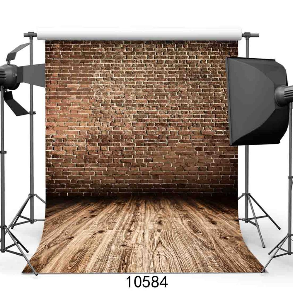 SHENGYONGBAO Vinyl Custom Photography Prop Brick Wall theme Photo Studio Background SN 71 in Background from Consumer Electronics