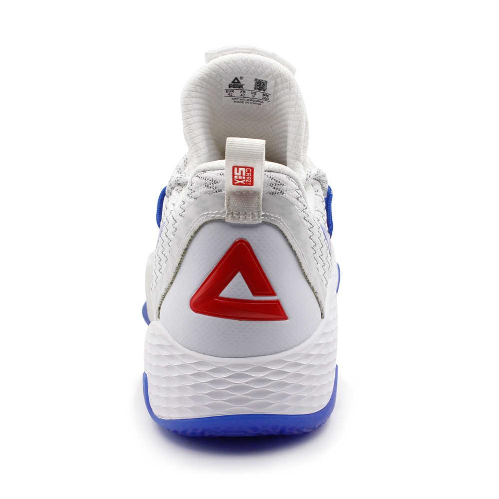 Pico lou williams tênis de basquete masculino 2019 tênis de basquete amortecimento sapatos esportivos estilo de vida atlético designer calçados
