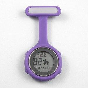 Nurse watch pocket watch silic
