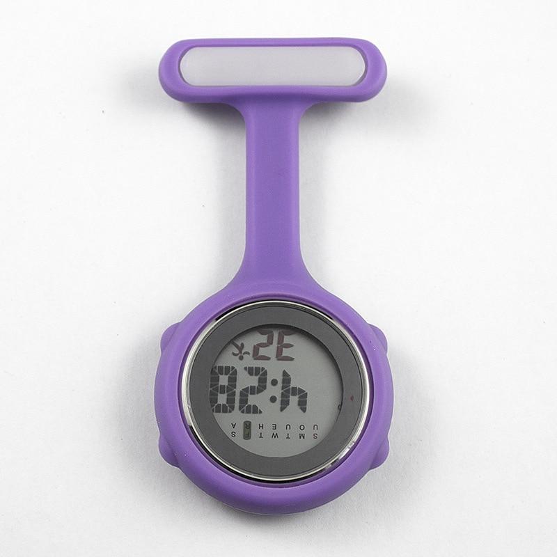 Nurse Watch Pocket Watch Silicone Electronic Luminous Calendar Jelly Watch Fashion Trend