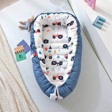 Baby Nest Bed Portable Travel  Crib Bed Infant Toddler Cotton Comfortable Soft Cradle for Newborn Anti-rollover YHM056
