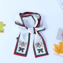 К 2020 году новых весной новый тип шарф имитирует шелк и все виды малых шарфы подарка печатание художественного модно